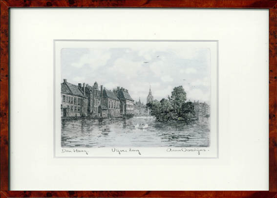 Vijverberg Den Haag 30x22 cm