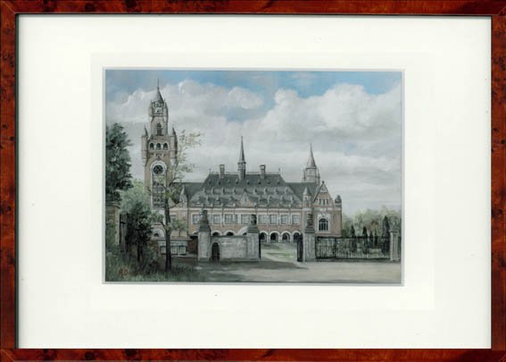 Vredespaleis2 Den Haag 30x22 cm